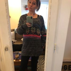 American Eagle Outfitter chunky knit sweater